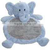 Bestever Baby/Infant plush Mat Elephant Blue Color NewBorn babies play blanket kids gift