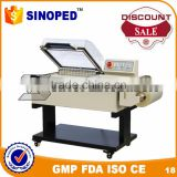 China gold manufacturer Food Industry 2 in 1 shrink wrap packing machine for food packaging