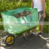 wheelbarrow garden waste bag wheelbarrow garden leaf bag wheelbarrow garden bag 12 years factory