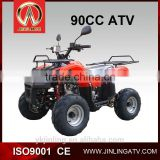 (JLA-08-04)2017 min jeep atv 50cc/110cc gas four wheelers for kids