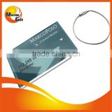 Promotional Full Logo Printing Card Insert Luggage Tag