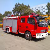 Duolika 4000L water tank fire fighting truck price to Myanmar