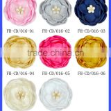 Party Artifical Fake Rose 8CM Wedding Decaration Ribbon Flower