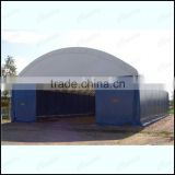 Trussed Fabric Building, portable shelter , Hangar , Warehouse tent , Storage Shelter