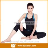 new Women's Yoga sets yoga clothes suit sport vest shorts Aerobics Workout clothes female fitnessTops Sportswear for women