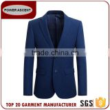 Oem Design Blue Custom Blazer Men Casual Latest Suits Jacket In Fashion