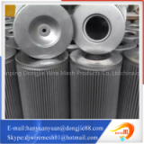 Various sizes pleated metal tube stainless steel air filter element