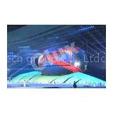 Wind Resistant Large Curved LED Screen Outdoor Advertising LED Signs