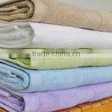High thread count Egyptian cotton towels