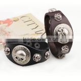 haosiqi the fashionable Fashion Charming Musical Notes Hanging Leather Bracelets For lovely kids