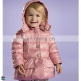 T-GC007 Beautiful Girls Fashion Stylish Long Winter Coat