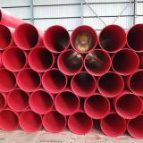 Shotcrete /  Fire Sprinkler Pipe Network Square Pipe Corrblack Steel Pipe