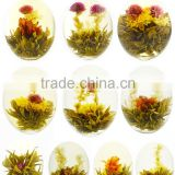 Beautiful blooming tea,flowering tea ball,different kinds of blooming tea ball                                                                         Quality Choice