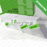 ISO 7810 Standard Size Blank PVC ID Card/ blank hotel key cards pvc card/ White PVC Card