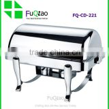 Best Selling Rectangle Stainless Steel Electric Buffet Chafing Dish for Hotel                                                                         Quality Choice