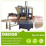 fully automatic brick making machine price DS6-15 compressed fly ash block making machine