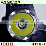 DAKSTAR XML T6 HT16-1 1000LM 18650 Rechargeable High Power Aluminum Headlamp LED With CREE