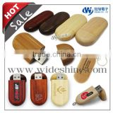 Wooden USB Flash drive for wooden gift with wooden key chain new quality gadget products for wholesale