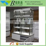 modern glass vitrine cabinet for jewelry display