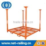 Heavy duty stacking storage metal tire rack