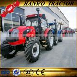 4WD china hot sale 120hp tractor with cabin/AC/back camera