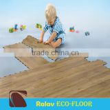 Bamboo Look High Quality Click PVC Floor Tiles Very Good Quality