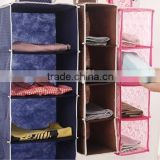 Multi-function Pocket Sweater Clothes Shoes Hanging Closet Organizer