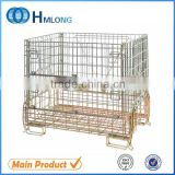 European foldable wire mesh sliding wire basket