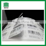 Horizon Barcode double layer sticker,Content barcode printing sticker label