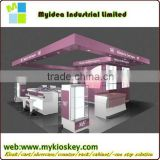 2015 new top end cosmetics acrylic display tables