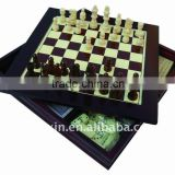 backgammon checkers chess game set 7 in 1 game set wood game