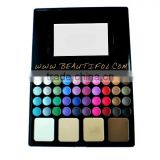 Private label eyeshadow waterproof, baked powder, shinning eyeshadow palette, customized, factory direct sell