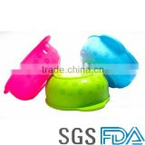 Food grade silicone High quality silastic bowl baby bowls pet bowl Portable factory price bowls