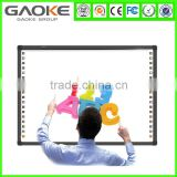 50 to 150 inch Optical Interactive Electric Whiteboard Aluminum HoneyComb smart interactive whiteboard for meeting and training