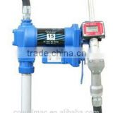 explosion-proof electric motor oil transfer pump with flow meter and nozzle