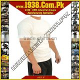 Kevlar Cut Resistant Covert White T-Shirt {- Made-To-Order -}