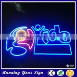 Hot sale custom outdoor noen bar open LED sign