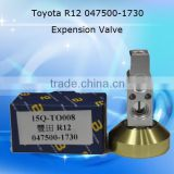 Auto air conditioner parts for Toyota R12 Expension vave,H-type Auto Air Conditioning Aluminium Expansion Valve