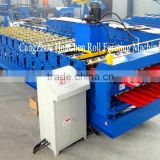 Steel tile making machinery / glazed tile roll forming machine                                                                                                         Supplier's Choice
