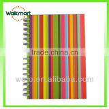 hard cover notebook with 2014 new design spiral note book