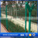 anping qunkun Bright Green wire Garden Fencing Trellis,low prices Top selling garden fencing trellis for sale,Weld Garden fence