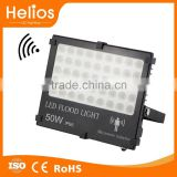 led flood light with sensor microwave radar snesor montion led light slim flood light 50w                                                                                                         Supplier's Choice