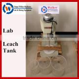 leaching tank laboratory mineral testing equipment, agitator tank for copper ore testing in lab