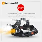 1000 5000 Lumens XML T6 Long Range Hunting Head Lamp Ultra Bright Bike Light Waterproof Led Rechargeable Headlamp for Camping                                                                         Quality Choice