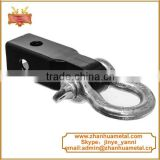 Forged Steel hitch pin with bow shackle trailer parts