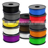 Perfect digital diy 3D printer filament 1.75mm 3mm ABS PLA HIPS WOOD PVA PV PC flexiable kids drawing 3D printer pen filament