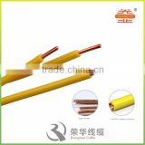 100m/roll BV1.5mm PVC insulated single core power cable electrical wire