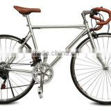 wholesale price 700C road bike with disc brake and derailleur 21speed/ colorful track bike/ fixie gear bicycle style