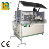 Automatic Single Cylindrical UV Automatic one colour semi-automatic screen printing machine LCB-150UV-1