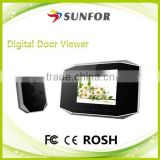 "2014 Top Sale Model on Ebay and Aliexpress 3.5"" Wireless Digital Door Viewer with PIR Motion Sensor"